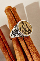 LHN Jewelry Womens ALBION SHIP SIGNET RING