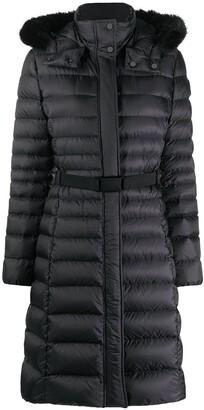 Ralph Lauren Demi faux fur-trimmed down coat