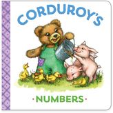 """Corduroy's Numbers"" Board Book by MaryJo Scott"