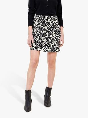 Oasis Mono Print Mini Skirt, Multi