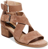 Taupe Strappy Heels - ShopStyle