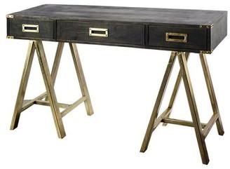 Brayden Studio Whitney Solid Wood Writing Desk