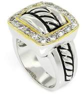 Alljoy Ever Popular Buckle Style Designer Inspired Ring, 9