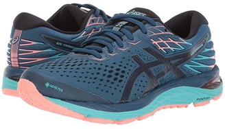 Asics GEL-Cumulus(r) 21 GTX (Mako Blue/Midnight) Women's Running Shoes