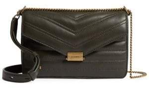 AllSaints Small Justine Leather Crossbody Bag