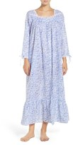 Eileen West Women's Front Button Cotton Nightgown