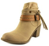 Roxy Dallas Women Round Toe Suede Tan Ankle Boot.