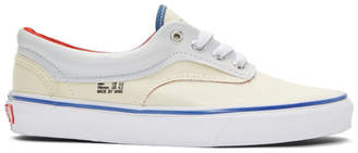 Vans Off-White and Navy Outside In Era Sneakers