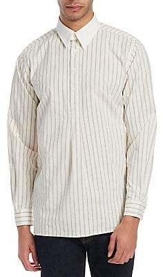 Kent & Curwen Kent& Curwen Kent& Curwen Men's Charlwood Grandad Collar Shirt