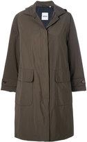 Aspesi cargo pocket hooded coat