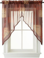 Asstd National Brand Eden Swag Valance Pair
