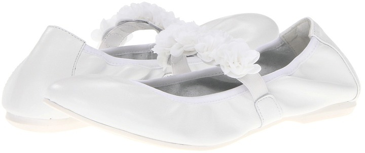 Primigi Larissa (Big Kid) (White) - Footwear