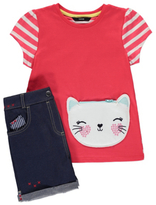 George Cat Top and Shorts Set