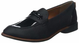 TBS Women Loafer Flats Black Size: 3.5 UK