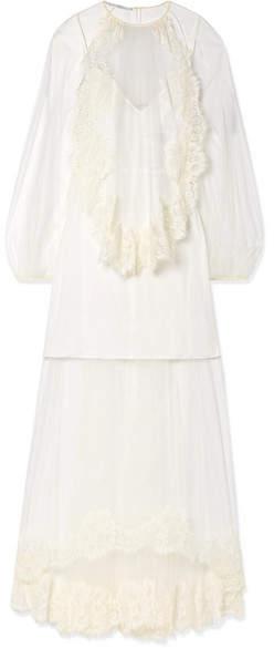 1799beecf Silk Crepe Wedding Dress - ShopStyle UK