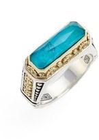 Konstantino Women's 'Iliada' Etched Ring