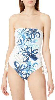 Carmen Marc Valvo Women's Bandeau ONE Piece