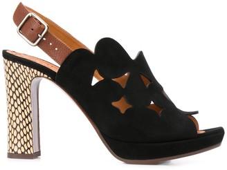 Chie Mihara Laser-Cut Sandals