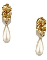 Givenchy Pre-owned: Faux Pearl Drop Earrings.