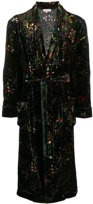 Pierre-Louis Mascia brocade coat
