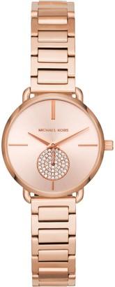 Michael Kors Women's Mini Portia Bracelet Strap Watch