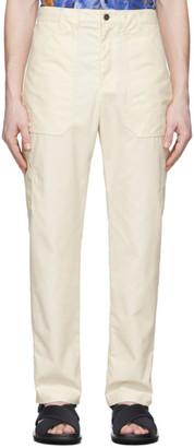 Deveaux Off-White Lee Trousers