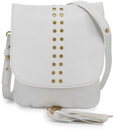 Cynthia Vincent Ember Leather Crossbody Bag, White