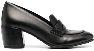 Del Carlo Block Heel Pumps