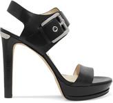 MICHAEL Michael Kors Becca buckled leather sandals