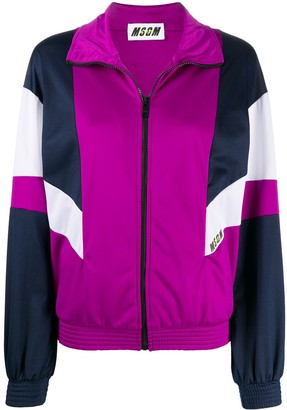 MSGM Colour Block Track Jacket