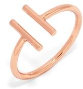 BaubleBar Parallel Bar Ring