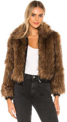 ASTR the Label Jiselle Faux Fur Jacket