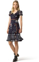 Tommy Hilfiger Collection Printed Tea Dress