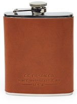 Filson Stainless Steel & Leather Flask