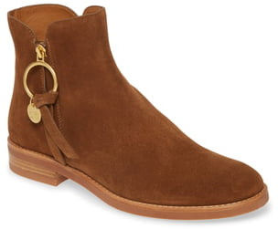 See by Chloe Louise Flat Bootie