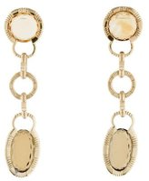 Roberto Coin 18K Citrine & Smoky Quartz Drop Earrings