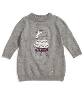 Armani Junior Infant Girl's 'Bear' Sweater Dress