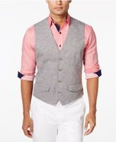 Tasso Elba Men's 100% Linen Vest, Only at Macy's