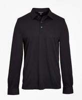 Brooks Brothers Premium Extra-Fine Supima Cotton Pique Long-Sleeve Polo