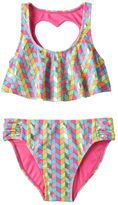 Girls 7-16 SO® Chevron Bikini Swimsuit Set