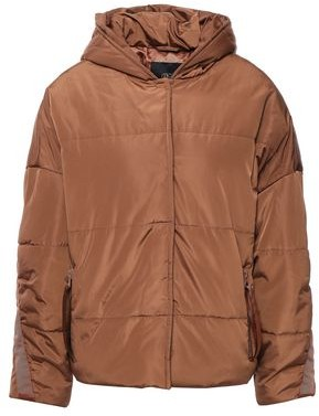 Maje Quilted Shell Hooded Jacket