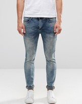 Religion Slim Fit Noize Jeans In Opium Wash