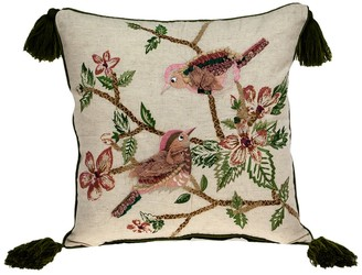 Parkland Collection Willow Beige Throw Pillow