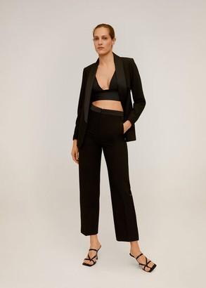 MANGO Shawl collar blazer black - 2 - Women