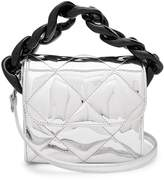 Marques Almeida MARQUES'ALMEIDA Oversized curb-chain quilted shoulder bag