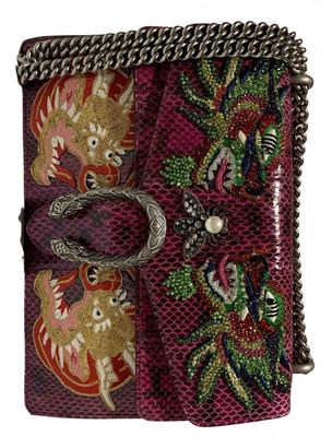 Gucci Dionysus Purple Exotic leathers Handbags