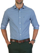 Nautica Classic-Fit Wrinkle Resistant Gingham Checked Shirt