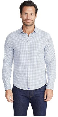 UNTUCKit Performance+ Beaumont Shirt (Blue) Men's Clothing