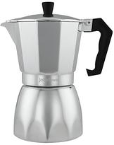 John Lewis Espresso Maker, Silver, 6-Cup