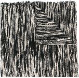 Faliero Sarti woven zebra scarf